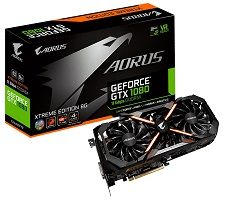 AORUS GeForce GTX 1080 8GB 11Gbps Xtreme Edition