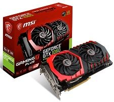 GeForce GTX 1060 6GB 9Gbps GAMING X PLUS
