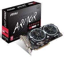 MSI Radeon RX 480 4GB ARMOR OC
