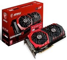 MSI Radeon RX 480 8GB GAMING X