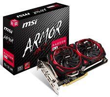 MSI Radeon RX 570 4GB ARMOR MK2 OC