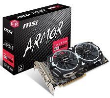 MSI Radeon RX 580 8GB ARMOR