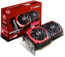 MSI Radeon RX 580 8GB GAMING X PLUS