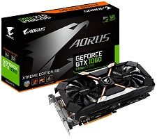 AORUS GeForce GTX 1060 6GB 9Gbps Xtreme Edition