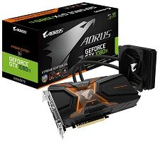 AORUS GeForce GTX 1080 Ti 11GB WATERFORCE Xtreme Edition