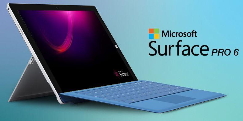 لاب توب Microsoft Surface Pro 6