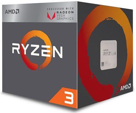 AMD Ryzen 3 2200G أفضل معالج للألعاب بسعر رخيص بكرت مدمج