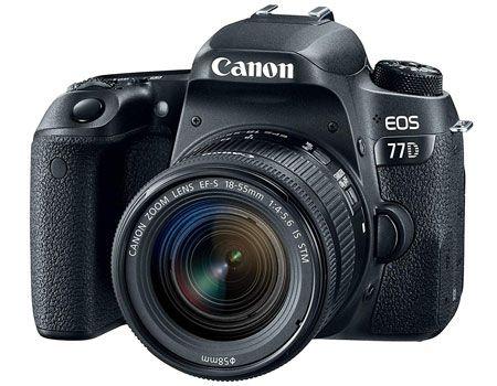 كاميرا Canon EOS 77D EF-S 18-55mm