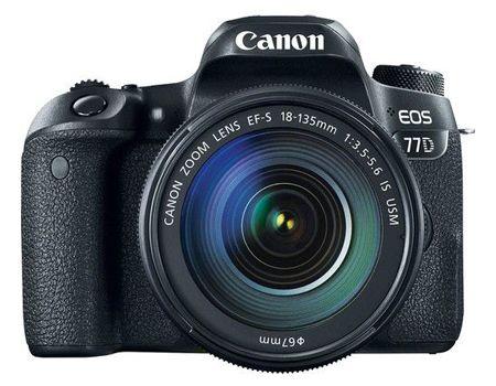 كاميرا Canon EOS 77D EF-S 18-135mm