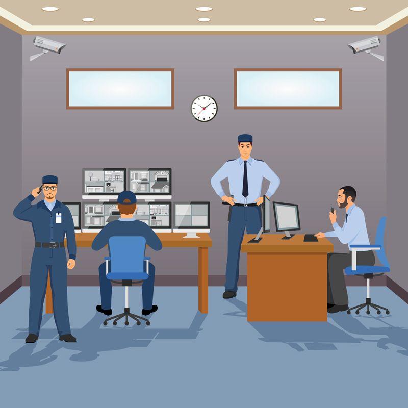 استخدامات كاميرات المراقبة للحد من السرقات ومكافحة الجرائم