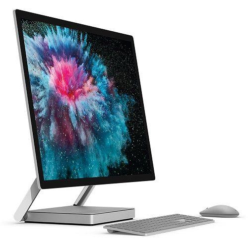 جهاز Microsoft Surface Studio 2 أفضل كمبيوتر مكتبي متحول 2 × 1