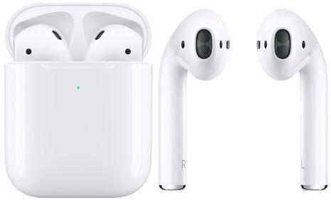 سماعة Apple AirPods الجيل الثاني