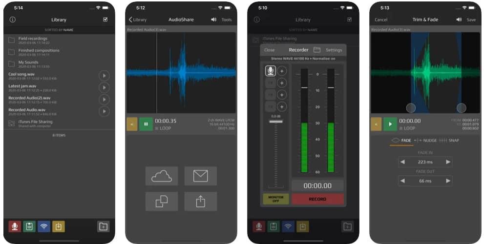 برنامج AudioShare
