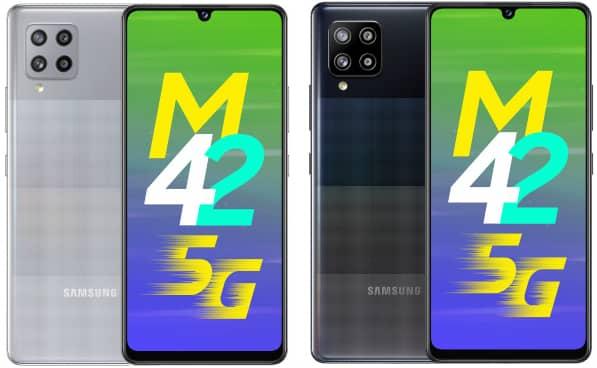 الأعلان رسمياً عن الهاتف الذكي Samsung Galaxy M42 5G بشاشة سوبر اموليد  وبطارية 5000 مللي أمبير