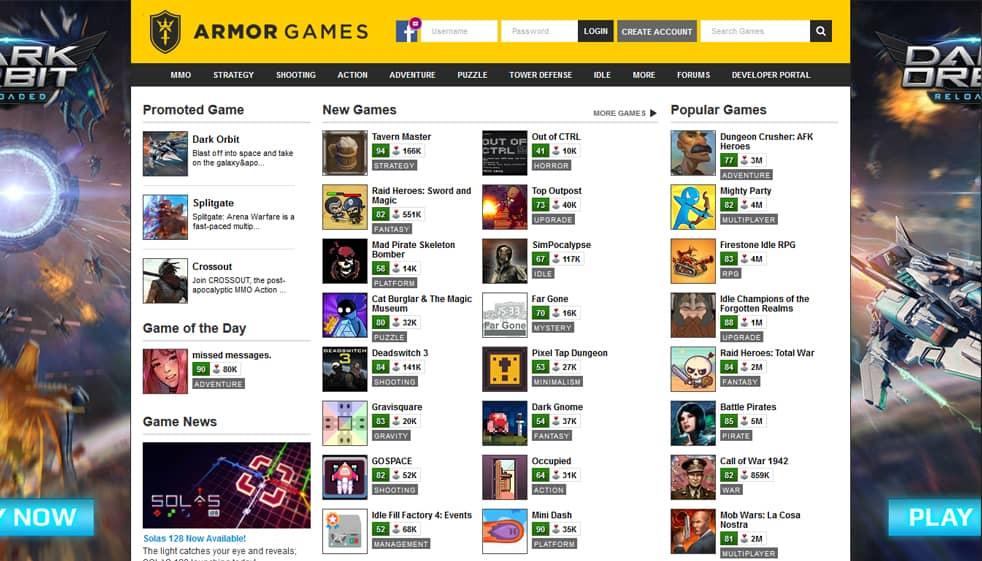 موقع Armor Games