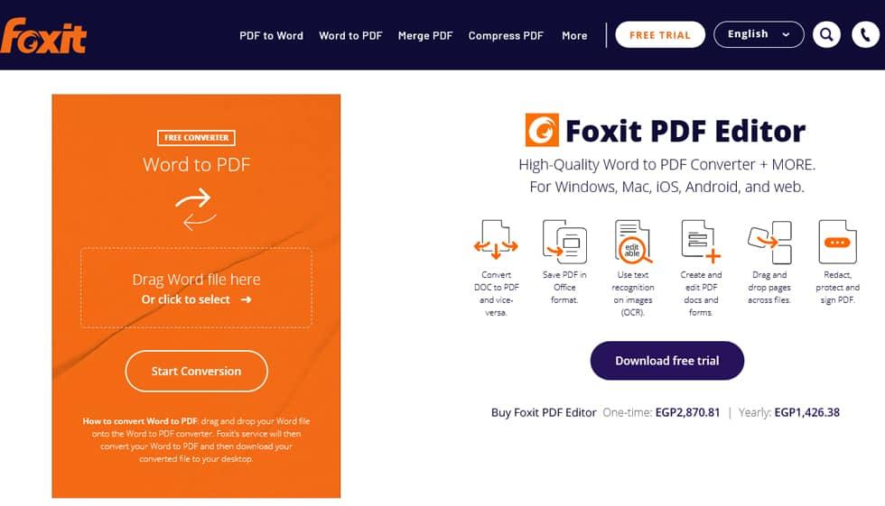 موقع Foxit
