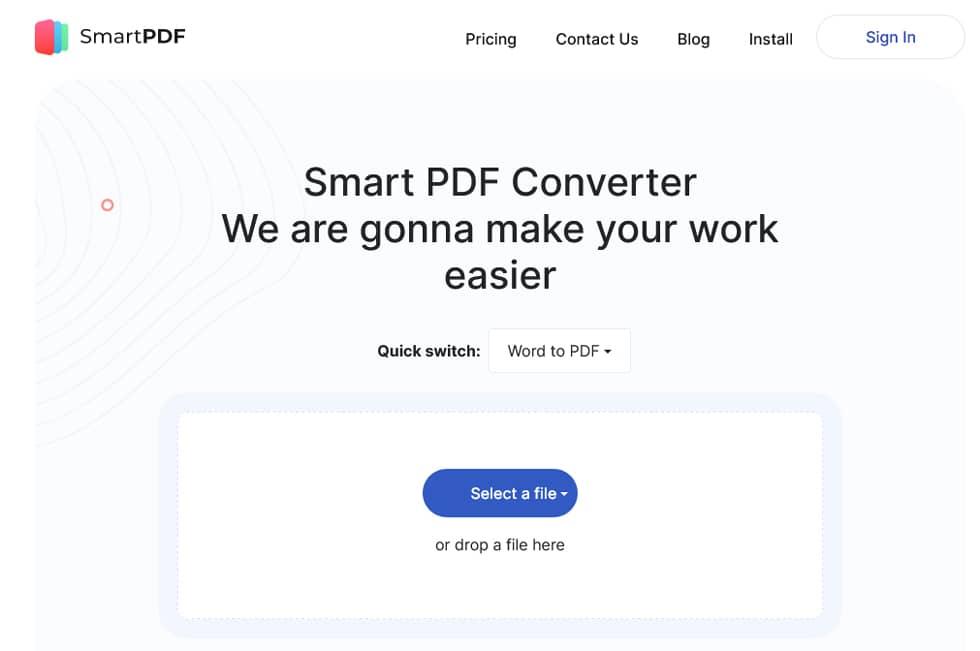 موقع Smart PDF