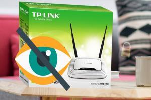بالخطوات طريقة اخفاء شبكة الواي فاي TP-Link