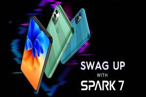 رسمياً إطلاق الهاتف الذكي TECNO Spark 7 بأندرويد 11 إصدار Go مع بطارية عملاقة 6000 مللي أمبير
